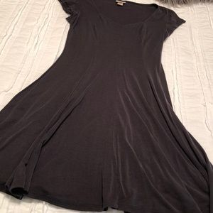 Charcoal mini dress from target